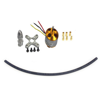 F02015-AA A2212 1000KV Brushless Outrunner Motor W/ Mount with 3 Pairs 3.5MM Banana Plug ( Male and Female) Quad copter UFO FS