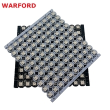 10~100 pcs WS2812B LED Individually addressable WS2811 IC rgb white/black 2812b led heatsink (10mm*3mm) 5050 SMD RGB Built-in(China)