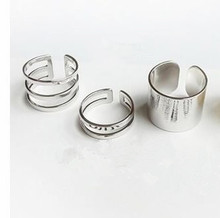 R196 Korean version of the influx of people and creative jewelry three-piece Master's Sun Rings with joint funds 3pcs/lot