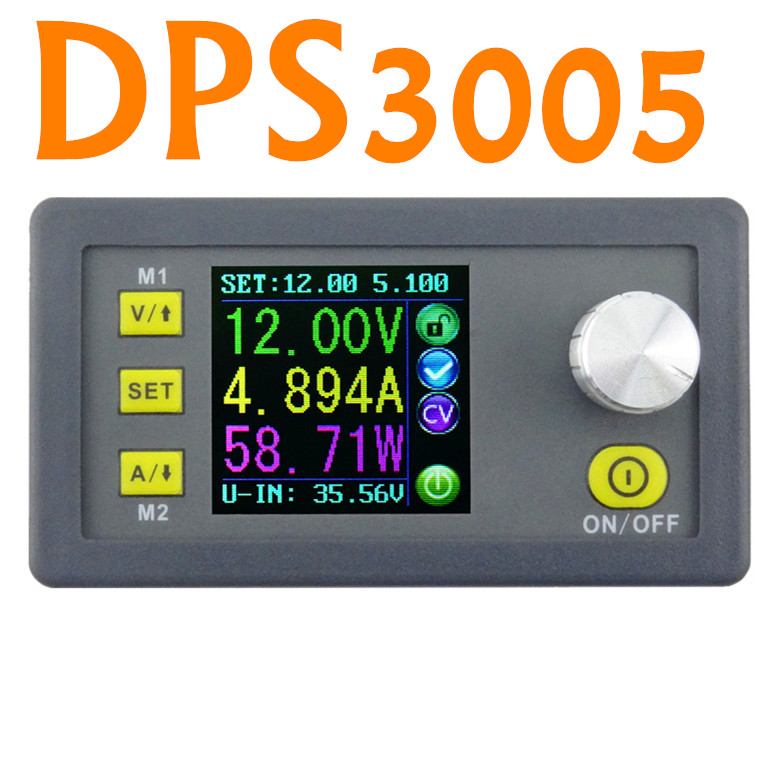 DPS3005 Constant Voltage current Step-down Programmable converter Power Supply Ammeter voltmeter Module  LCD display<br><br>Aliexpress