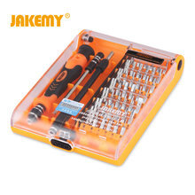 JAKEMY 45 In 1 Precision Screwdriver Set Disassemble For Tablets Phone Computer Laptop PC Watch Mini Electronic Repair Tools Kit(China)