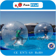 giant inflatable water ball paintball/ water bouncing ball/ bubble ball walk water(China)