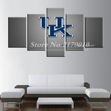 Newly Designed Modern Home Artwork Poster the UK Picture basketball Canvas Unframed Popular Team 5pieces Painting Bedroom Ball