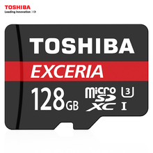 TOSHIBA Memory Card 128GB 64GB U3 SDXC Max UP to 90MB/s Micro SD Card 32GB SDHC 16GB U1 Class10 TF Cards for Smartphone/Camera(China)