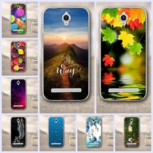 For Asus Zenfone Go ZC451TG 4.5 Phone Case Back Cover 3D relief Picture Soft TPU Case for Asus Zenfone Go ZC451TG 4.5inch funda