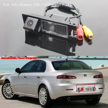 Car Reversing Parking Camera / FOR Alfa Romeo 159 / Rear View Camera / HD CCD Color NTST or PAL / Back up Reverse Camera