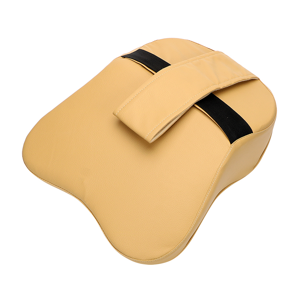 High Quality Cotton Filling Car Leather Headrest Neck Pillow