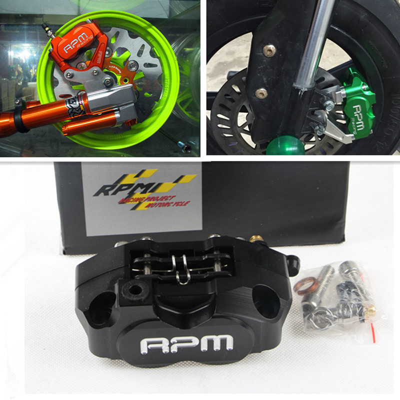 9 Color RPM Brand CNC Electric Motorcycle Scooter Brake Calipers Brake Pump Universal For 200mm/220mm Disc Yamaha RSZ BWS Aerox<br><br>Aliexpress