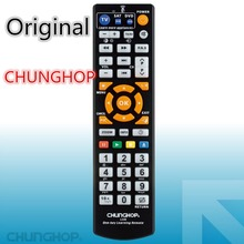 Original Product chunghop L336 copy Smart Remote Control Controller With Learn Function For TV CBL DVD SAT learning(China)
