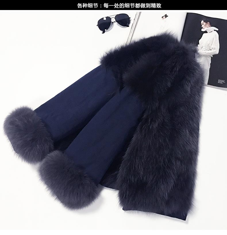 new styles fox fur jacket for women (2)