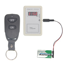 Precision Wireless Remote Control Handheld Reader Transmitter Frequency Meter Counter Detector Tester Cymometer 250-450 MHZ(China)