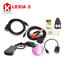 2017 Newly hot selling lexia 3 pp 2000 For citroen/peugeot Professional diagnostic tool Lexia-3 Free Shipping
