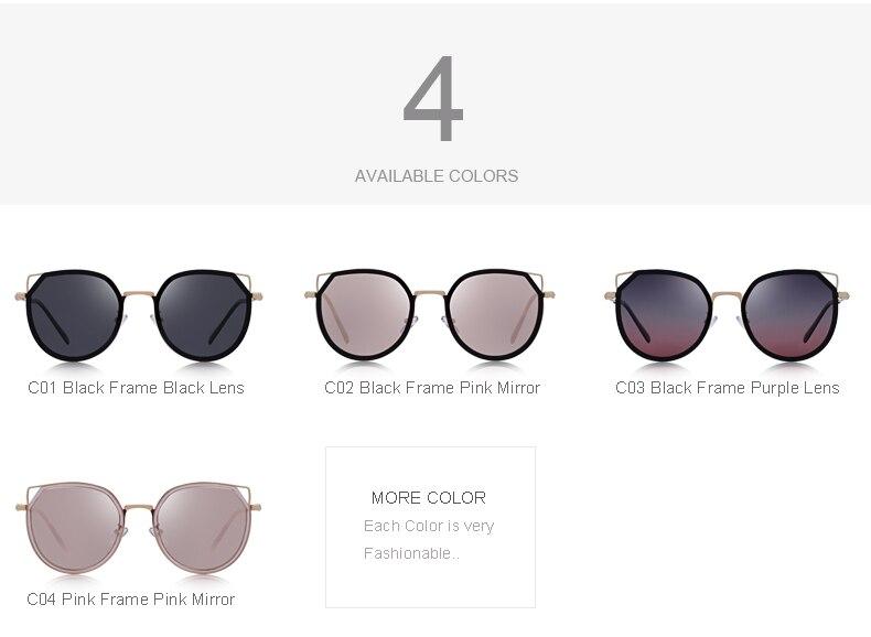 نظارات شمسية للسيدات بعدسات بلورايزد بعدة الوان 2018 3