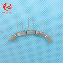 100pcs/lot Crystal Oscillator 12MHz 12 MHz 12M Hz Mini Passive Resonator Quartz HC-49S(China)