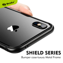 Benks transparent case For iPhone X case thin clear luxury Phone Case For iPhone X New(China)