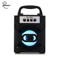 Redmaine MS - 309BT Bluetooth Portable Speaker with LED Lights 3 inch Driver Unit