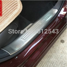 car stainless steel interior scuff plate door sill cover for Volkswagen vw Passat America 2011-2014 car styling auto accessories