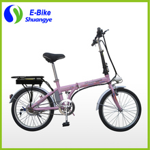 "20"" 36v folding electric bicycle ebike with brushless motor for Russia"