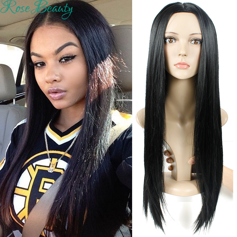 Long black wigs for black women kylie jenner synthetic wigs harley quinn wig cheap perruque cheveux synthetic cosplay wig<br><br>Aliexpress