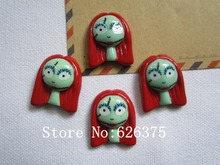 Rena!! Min.order $6 (mix order), Cute Sally for Halloween Party for Hair Bow Center, DIY (22*27mm), Free Shipping(China)