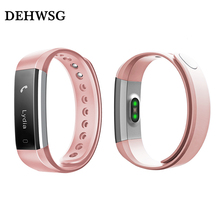 DEHWSG Heart Rate Monitor Smart Bracelet ID115 HR Activity Fitness Tracker Alarm Vibration Wristband for IOS Android PK xiaomi