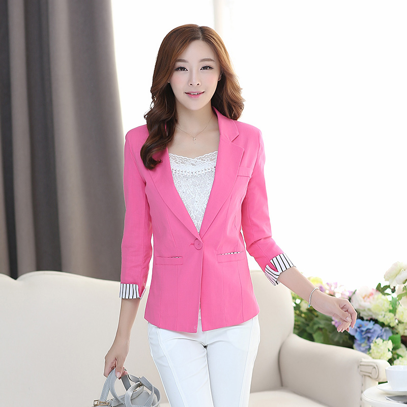 Compare Prices on Suit Jacket Women Pink- Online Shopping/Buy Low ...