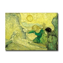 Van Gogh paintings Resurrection of Lazarus fine art fridge magnet home decoration magnetic stickers gift Factory outlets