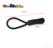 10pcs Pack Outdoor Camping Backpack Zipper Pulls Cord Rope Ends Lock Zip Clip Strap Gym Suit Garment Bag Parts Accessories