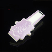 10pc/lot Wholesale Custom Unique Reusable Acrylic Lapel Pins ID Name Badges Holders Name Plate Name Tag Hard Logo Printed Cheap(China)