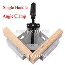 Single Handle 90 Degrees Right Angle Clamps For Woodworking DIY Photo Frame Aquarium Furniture Fixed Tolls Carpenter Pliers(China)