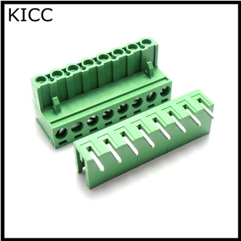 15EDG5.08 3P Bending pin Connecting terminal 2EDGK 5.08mm 3Pin Connector 2EDG5.08-3PL Plug+Socket 10Sets<br><br>Aliexpress