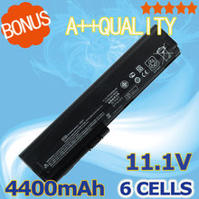 4400mAh 11.1V Replacement Laptop Battery For HP 632015-542 632419-001 632421-001 HSTNN-UB2L QK644AA SX06XL 2560p 2570p