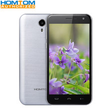HOMTOM HT3 5.0 inch Android 5.1 3G Smartphone MTK6580 Quad Core 8GB ROM 2.5D Screen Dual Cameras Smart Gesture Mobile Phone
