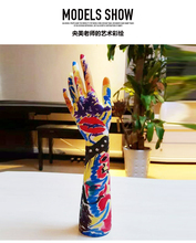 Furnishing decoration mannequin jewelry ornaments simulation Nail Art Fake Model Watch Ring Bracelet Gloves Stand Display Hand(China)