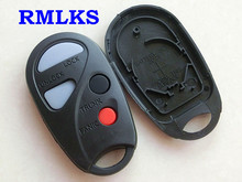 RMLKS New Stock Replacement Remote Key Shell Case Fob 3 Button+1 Panic for Nissan Maxima Sentra 2000 2001 2002 2003 2004 2005 20(China)