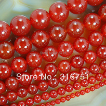"Hot Sale Free Shipping 15.5"" Smooth Round Agata Onyx Beads 4 6 8 10 12 14 16mm Pick Siz-F00062"
