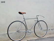 SEE fixed gear bike vehicle vintage racing retro bicycle 700C Single Speed scopper tube LUG city cycle  Leisure travel