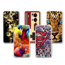 2016 Newest Lovely TPU Silicone Case ZTE Blade A510 Colorful Perfect Painted ZTE A510 Fundas Capa Free Pen