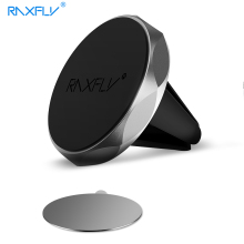 RAXFLY Magnet Car Holder For iPhone Samsung Huawei Phone Magnetic Stand Air Vent Support Universal Holder For Xiaomi HTC Sony(China)