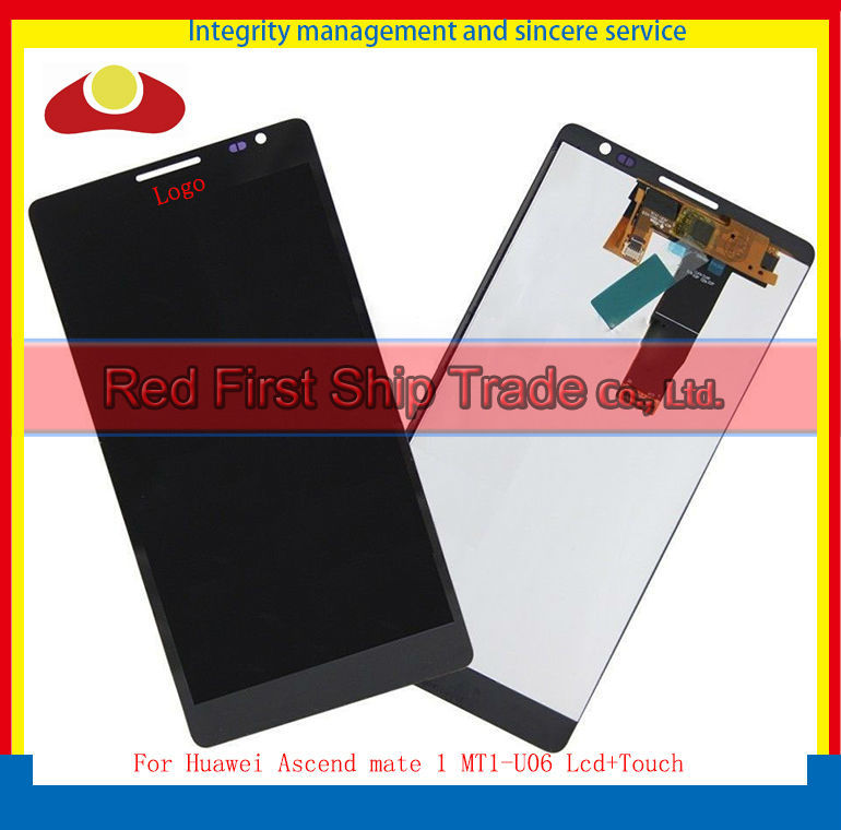 Original For Huawei Ascend mate 1 MT1-U06 Lcd Display Assembly Complete + Touch Screen Digitizer 4.7inch 1280*720 Black or White<br><br>Aliexpress