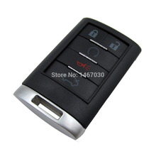 KEYYOU New Replacement Shell Remote key Case Fob 5 Button For CADILLAC ATS SRX STS CTS DTS Free Shipping