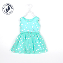Dot Girls Dresses Summer Sleeveless Princess Dress Gauze Toddler Outfit Hot Sale Cute Children Outerwear Cheap Kids Clothing