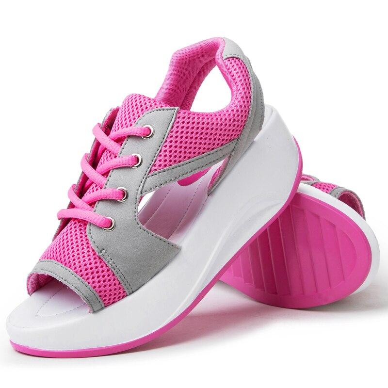 2017 Women Platform Sandals Sandalias Ladies Summer Open Toe Sandals Women Shoes Wedges Zapatos Mujer<br><br>Aliexpress