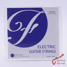 1 Set GuitarFamily SEG  Electric Guitar Strings  009-042 / 010-046 / 011-050 MADE IN KOREA