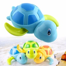 2017 Swimming Animal Turtle Bath Toys Funny Wate Toys For Children Kids Toddler Bath Time Creative(China)
