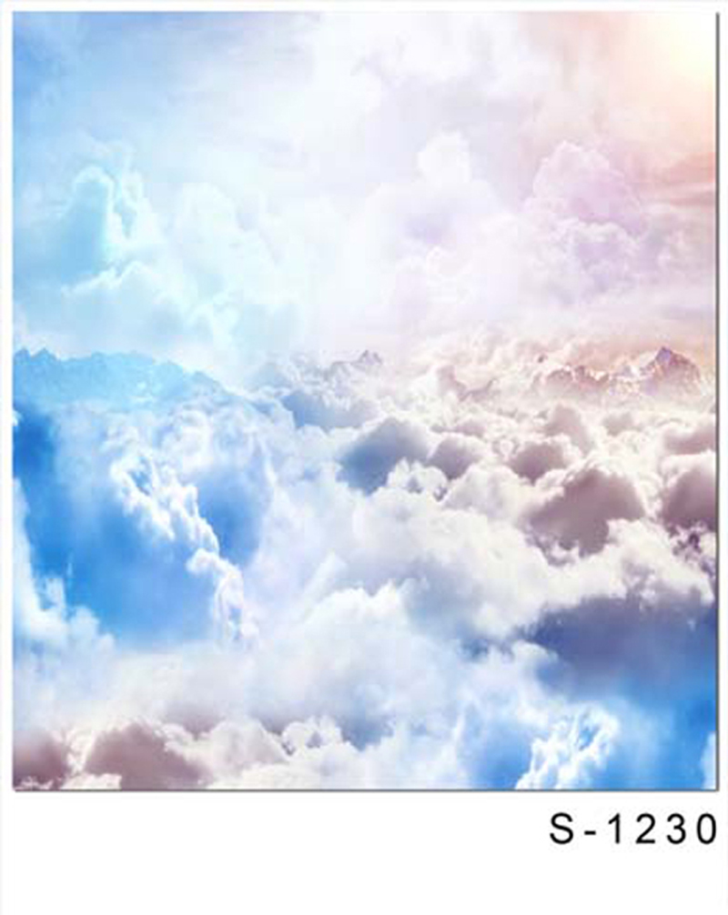 150*200cm White Cloud Photography Backdrops Blue Sky with Sunshine Photography Background Newborn Baby Photo Props Fotografia<br><br>Aliexpress