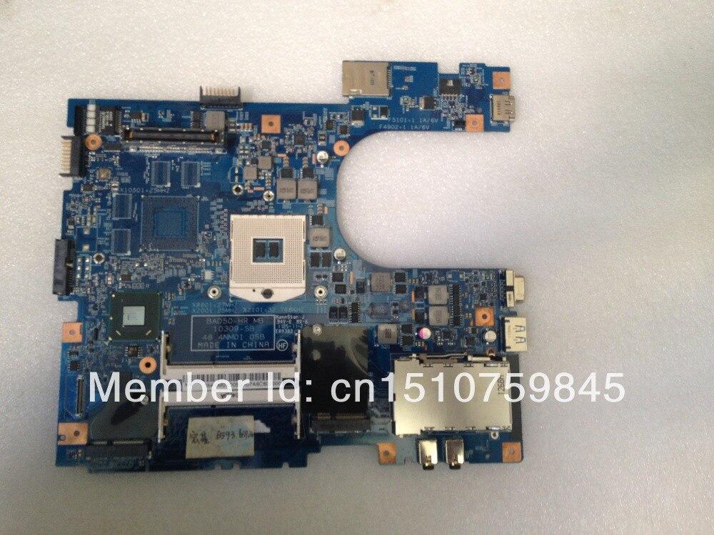 Laptop motherboard Acer 6593 6593G motherboard BAD50-HR 48.4NM01.0SB 10309-SB Intel DDR3 motherboard 100% fully tested