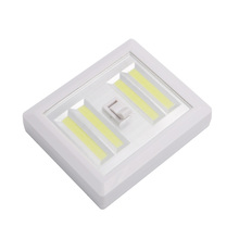 Magnetic 4* COB LED Cordless Light Switch Wall Night Lights Battery Operated Kitchen Cabinet Garage Closet Camp Emergency Lamp