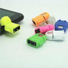 Micro usb to USB OTG adapter for Samsung Galaxy S2/S3/S4 smartphone tablet pc connect to flash mouse keyboard Micro usb