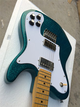 tl Electric guitar free shipping Diamond Blue color made in china guitar Custom OEM Guitar factory